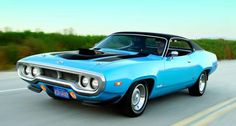 1971-72 Plymouth GTX Roadrunner.