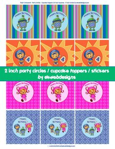 Toppers & Flags on Pinterest | Cupcake Toppers, Free Printable and ...