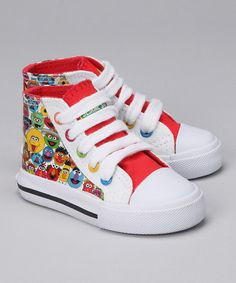 Omg love these shoes! Trying to find a pair for Kyrin looking all over can't find anything all sold out :( he loves sesame street mainly Elmo