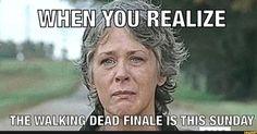 The walking dead finale Walking Dead Show, Walking Dead Tv Series, Walking Dead Funny, Fear The Walking Dead, Twd Memes, Friends Cast, Best Zombie, Tv Land, Daryl Dixon