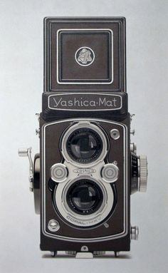 William Fisk, Untitled No 61  (Yashica-Mat Camera) (2009), via Artsy.net