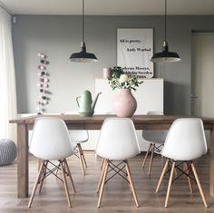 cadeiras eames na decoração