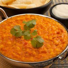 Indiai paradicsomos sárgaborsó (dahl) Recept képpel - Mindmegette.hu - Receptek Le Curry, Dhal, Evening Meals, Coconut Milk, Macaroni And Cheese, Food To Make, Ethnic Recipes, Risotto, Goodies