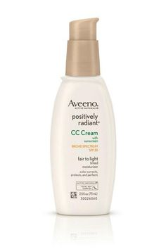 """11 """"Non-Foundations"""" For No-Makeup Makeup #refinery29  http://www.refinery29.com/best-sheer-face-makeup#slide-6  Intensity Level: 2Finish: Slight radianceA drugstore favorite for sensitive skin, Aveeno's tinted moisturizer offers SPF 30 in a sheer, brightening formula specked with barely visible light-reflecting minerals that offer a subtle blurring effect. This means your skin still looks like your skin, which is kind of the point, isn't it? The lightweight cove... #BestSkinMoisturizer"""