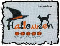 Cross stitch *♥* Point de croix halloween