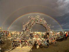 OK ladies... it doesn't get any more adventurous than this: Burning Man.  Black Rock Desert, NV.