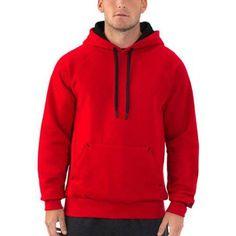 Russell Big Men's Fleece Pullover Hood, Size: 2XL, Black