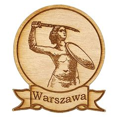 Fridge magnet made of wood. Magnet Drawing, 3d Printed Jewelry, Sculpture Projects, Unique Necklaces, Statement Necklaces, Made Of Wood, Warsaw, Magnets, 3d Printing