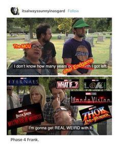 Avengers Superheroes, Avengers Memes, Marvel Memes, Marvel Funny, Disney Marvel, Marvel Avengers, I Understood That Reference, Phase 4, Dc Memes