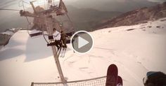 """On May 14, 2013, the legendary Candide Thovex uploaded a video to YouTube entitled """"One of those days."""" It featured POV footage of Thovex shredding the hec"""