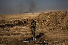 Kurdish pesh merga forces started their push toward Islamic State-held villages slowly, by moonlight. Soon, the crawl became a run. The Crawl, Smoke Screen, American Freedom, Tornadoes, Antarctica, North Africa, Natural Disasters, Ny Times, Obama
