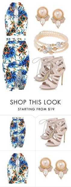 """3"" by pamela-guzman10 on Polyvore featuring New Look, Carvela, Carolee y sweet deluxe"