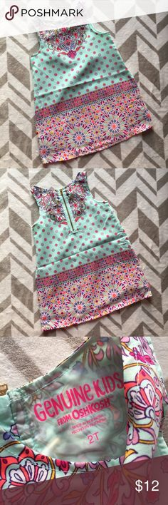 2T Genuine Kids by OshKosh Dress Super Adorable 2T Dress! Genuine Kids by OshKosh Worn only once! Osh Kosh Dresses