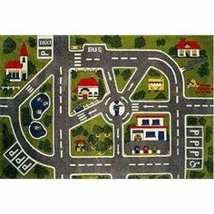 "Streets Kids Rug - Size 51""x78"" by LA Rug. $73.14. 100% nylon with latex backing.. Also a great choice for schools or day care facilities!. Color: Multi. Great for a kids room or play area.. Size: 0.5""H x 51""W x 78""D. The Fun Time Streets Accent Rug by LA Rug is the perfect accent rug to enhance your child's room - it's great as a playmat, too! This rug is made of 100% woven nylon, and has a non-slip latex backing. A great mat for decorating a room - or place it u..."