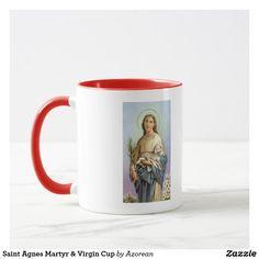 Saint Agnes Martyr & Virgin Cup