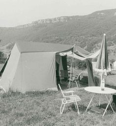 The tents may have changed but the stunning scenery of Cevennes hasn't.