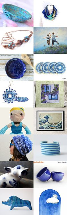 Lovely Etsy Treasury with unique handmade gift ideas..... Pretty scarf by Fibernique and Cute Desk Accessory Bowl, basket...... 01.09.2016 by Pingos do Céu on Etsy--Pinned+with+TreasuryPin.com