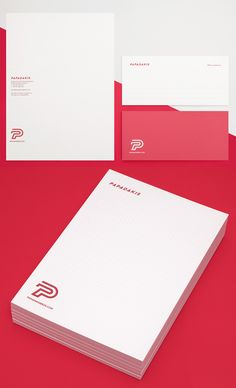 Branding: Papadakis Bros - Stationary Items #branding #visualidentity #logodesign #brand #businesscard #stationerydesign