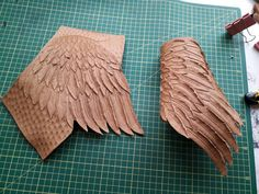 Leather Carving, Leather Tooling, Leather Crafts, Arrows, Hoods, Guns, Projects, Ideas, Texture