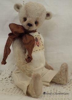 Ambrose - artist design miniature teddy bear