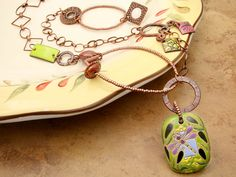 Dragonfly Meadow Necklace