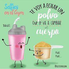 Te va a cambiar el cuerpo. @selfiesenelgym  #pelaeldiente #inspiración #optimismo #viñetas #ilustración #humor #funny #positivo #sonrisa #alegría #diseño