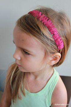 Fringy Headband || Style Smaller