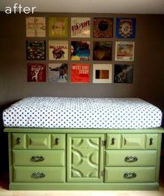 Love the redone dresser/buffet!
