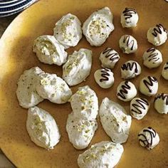 Black and White Chocolate Truffles