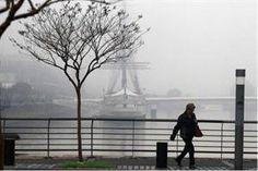 Un intenso banco de niebla genera complicaciones en la Ciudad - lanacion.com