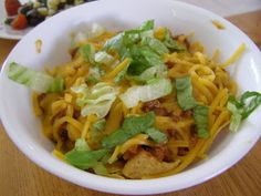 A Taste of the Blogosphere: Real World Wednesday - Frito Pie