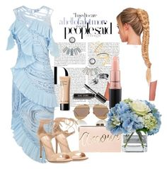 """""""Russel'swife BABYSHOWER"""" by staydiva on Polyvore featuring moda, Christian Dior, Alice McCall, Gianvito Rossi, Bobbi Brown Cosmetics, MAC Cosmetics, BCBGMAXAZRIA, Diane James, Aéropostale y Madewell"""