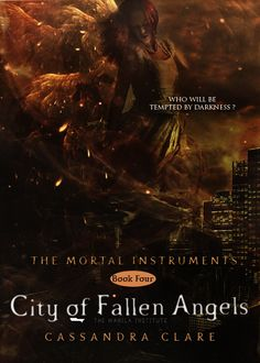 TMI City of Fallen Angels fan made cover ]
