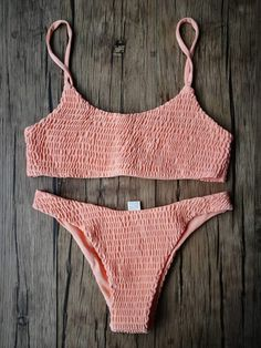 Shop online scrunched swimsuit bikini sets for women, mix or match with our other trendy floral / striped / gingham swim tops, sold separately with different sizes tops and bottoms. We have a broad range of Cute Bikinis for you to choose. Crop Top Bathing Suit, Bathing Suits For Teens, Summer Bathing Suits, Cute Bathing Suits, Summer Suits, Yellow Bathing Suit, Baby Girl Swimsuit, Blue Swimsuit, Trendy Bikinis