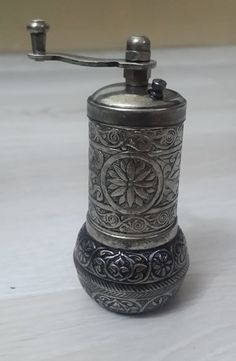 Ottoman Pattern Hand Mill Turkish Coffee Grinder / by Turqu50, $13.90