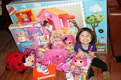 This is my favorite lalaloopsy birthday party. A lot of great ideas.  And I love the lalaloopsy playhouse!