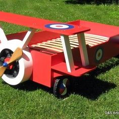 Twin Snoopy Airplane Bed by Steven Godding