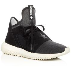Adidas Women's Rita Ora Tubular Defiant Melange Lace Up Sneakers (1.588.585 IDR) ❤ liked on Polyvore featuring shoes, sneakers, laced shoes, adidas trainers, adidas sneakers, lace up sneakers and lacing sneakers