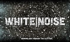 'White Noise is a teaching series for the church that I serve at. Trying something a bit more geometric and less cliche tv static.