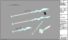 Steven Crewniverse Behind-The-Scenes Universe: Pearl and her signature weapon: a spear! Lead...