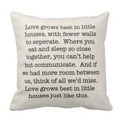 Little House Pillow
