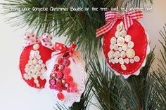 Free Christmas project on the Red Brolly blog