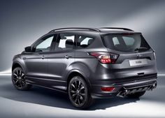 Ford has given its Kuga SUV a midlife makeover, which includes major design tweaks and a new diesel engine option. Ford Ecosport, 2019 Ford, Car Ford, Ford Mustang, Ford Kuga 2017, Diesel, Suv Cars, Ford News, Mini Trucks