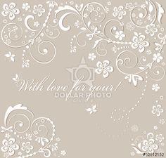 http://br.dollarphotoclub.com/stock-photo/Beautiful wedding card/52512152 Dollar Photo Club milhões de imagens por US$ 1 cada