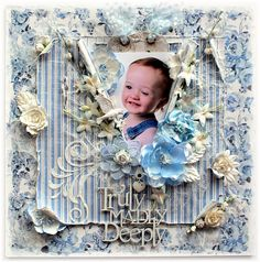 Delightfully Crazy: Truly, Madly, Deeply Shabby LO - The Scrapbook Sto...