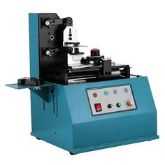 NEW! Happybuy Pad Printer Multinational Coder Pad Printer Machine 3600 times/hour Printing Machine TDY-300C Pad Printer Ink