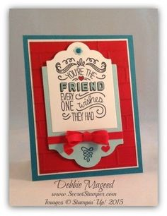 Friendly Wishes $27.00 Wood Mount 138698 $19.00 Clear Mount 139579 blocks a,c,d
