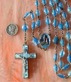 Collecting Antique Rosaries: Antique Rosaries from Lourdes