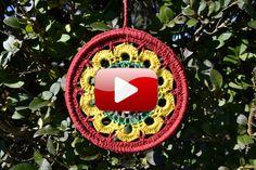 Mandala Nº1 de la colección de mandalas de Moda a Crochet