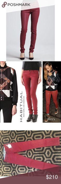 💥 Brand New HABITUAL ALICE COATED SKINNY JEAN Never worn coated denim by Habitual. Beautiful craftsmanship ship on these jeans. Great stretch. Beautiful skinny jeans will pair nicely with a sweater and booties for the winter! ❄️✨ Habitual Jeans Skinny